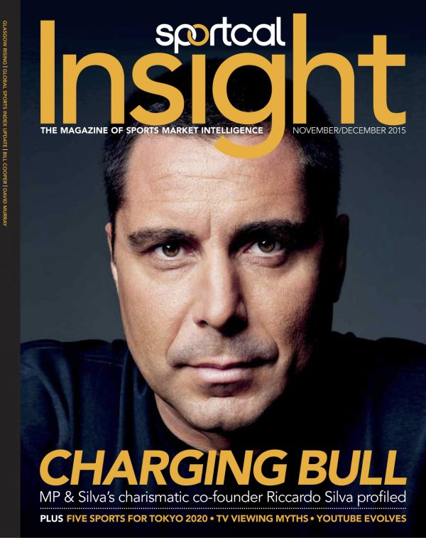 Riccardo Silva on the cover of Insight Magazine
