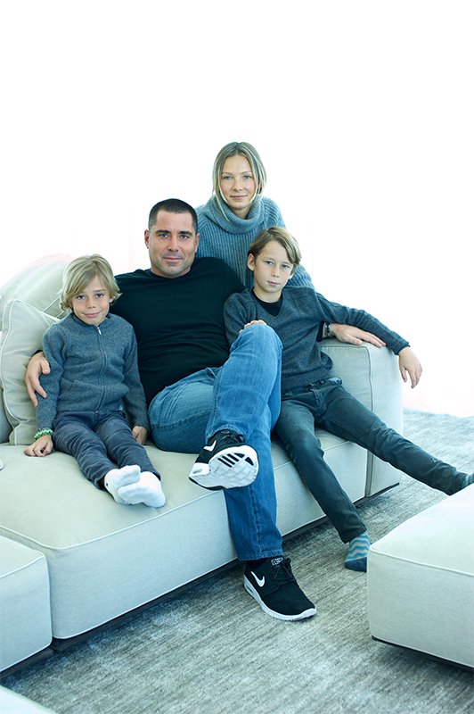 Riccardo Silva Family