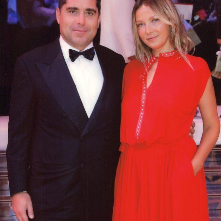 Riccardo Silva and Tatyana Silva in Monaco