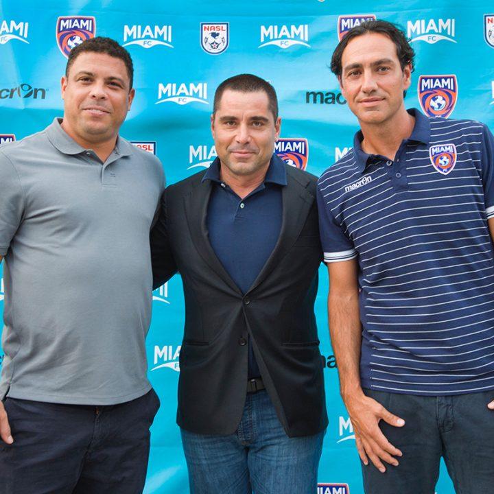 Ronaldo, Riccardo Silva and Nesta