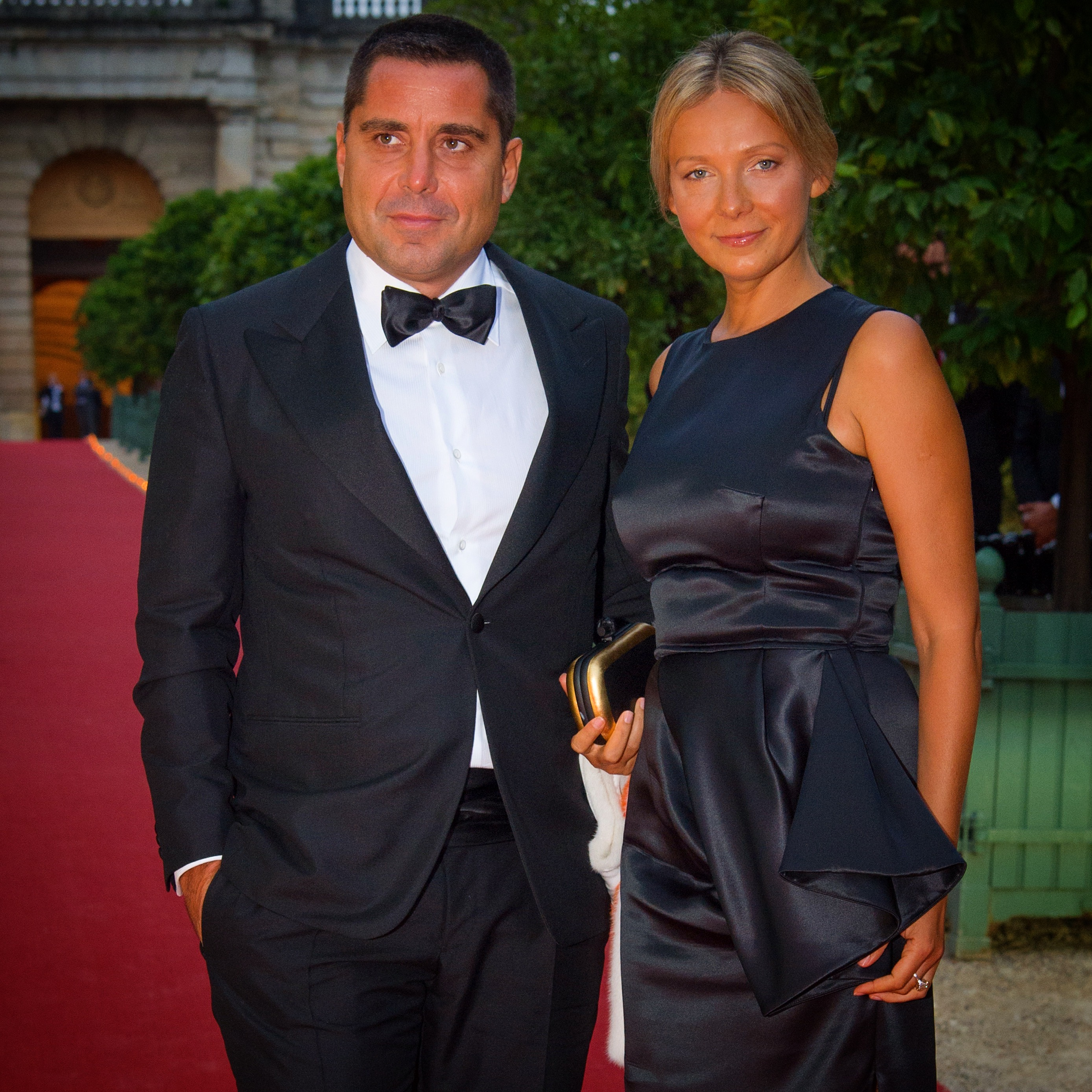 Riccardo Silva with his wife Tatyana Silva