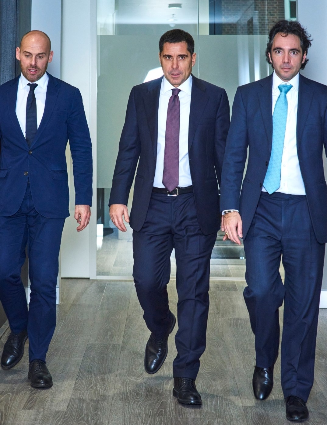 Riccardo Silva at the Silva International London office