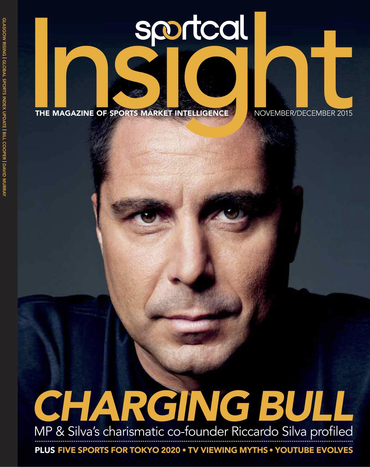 Riccardo Silva on the cover of Insight Magazine