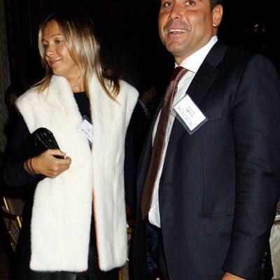 Riccardo Silva with Wife Tatyana