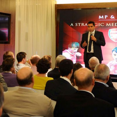 Riccardo Silva Arsenal Conference