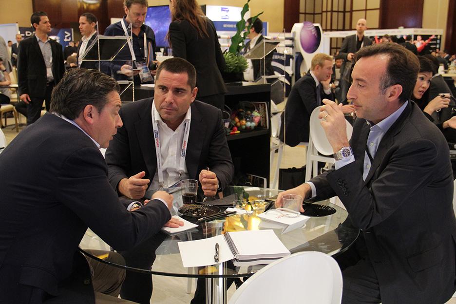 Riccardo Silva with Roberto Dalmiglio and Marco Auletta
